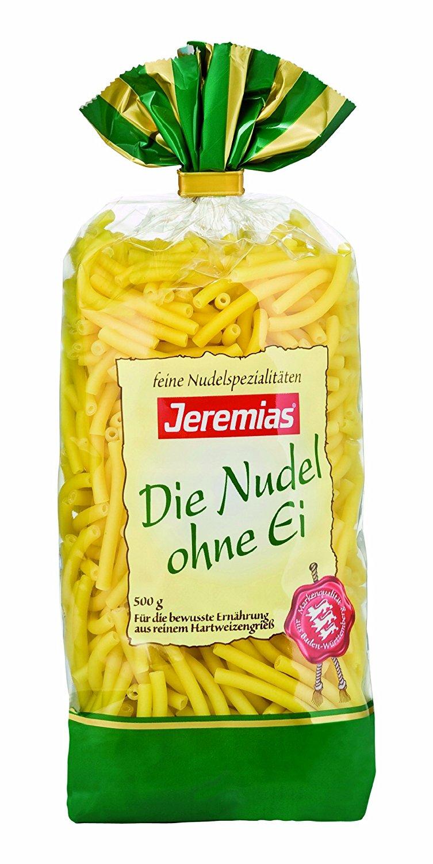 Jeremias Makkronelli Pasta Die Nudel Ohne Ei 4er Pack 4 X 500 G