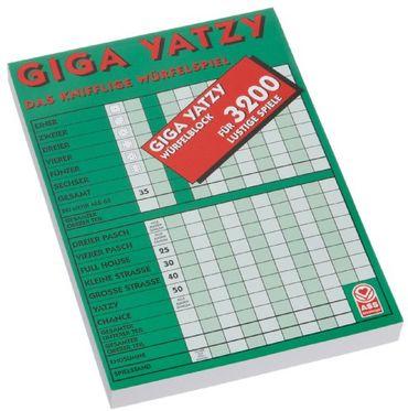 ASS Altenburger 22517117 - Giga Yatzy Block