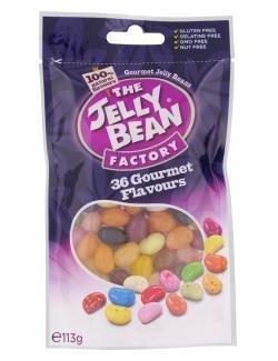 The Jelly Bean Factory 36 Gourmet Flavours, 36 verschiedene Geschmäcker (113g Stehbeutel)