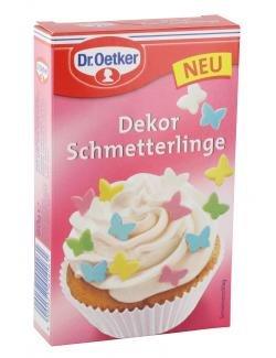 Dr. Oetker - Dekor Schmetterlinge - 60g