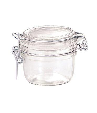 Bormioli Rocco Drahtbügelglas Fido 125 ml rund Einmachglas Dessertglas Vorspeisenglas Einkochglas