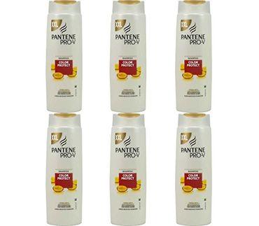 6x Pantene Pro V Color Protect Shampoo Für Farbglanz & Coloriertes Haar - 500ml