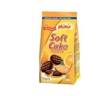 GRIESSON Soft Cake Minis Orange 125g