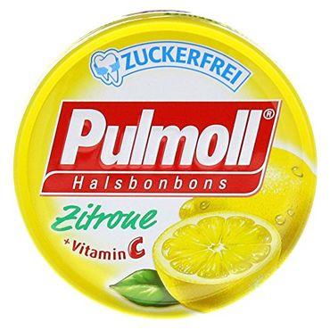 Pulmoll Hustenbonbons Zitrone + Vitamine c zf.