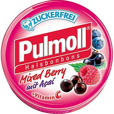 Pulmoll Mixed Berry mit Acai ohne Zucker (Stevia)0g zuckerfrei a 50g 10er Pack