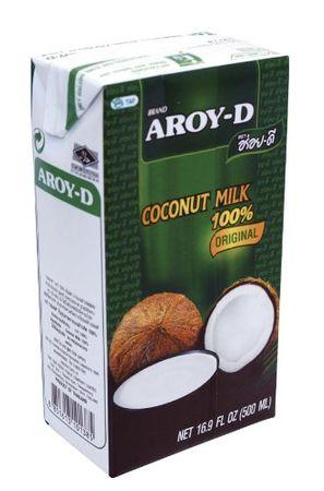 6er Pack AROY-D Kokosnussmilch [6x 500ml] Cocosmilch ~ Coconut Milk