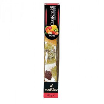 Casa Rinaldi Soft Nougat Riegel mit Früchten italienische Spezialität 100g
