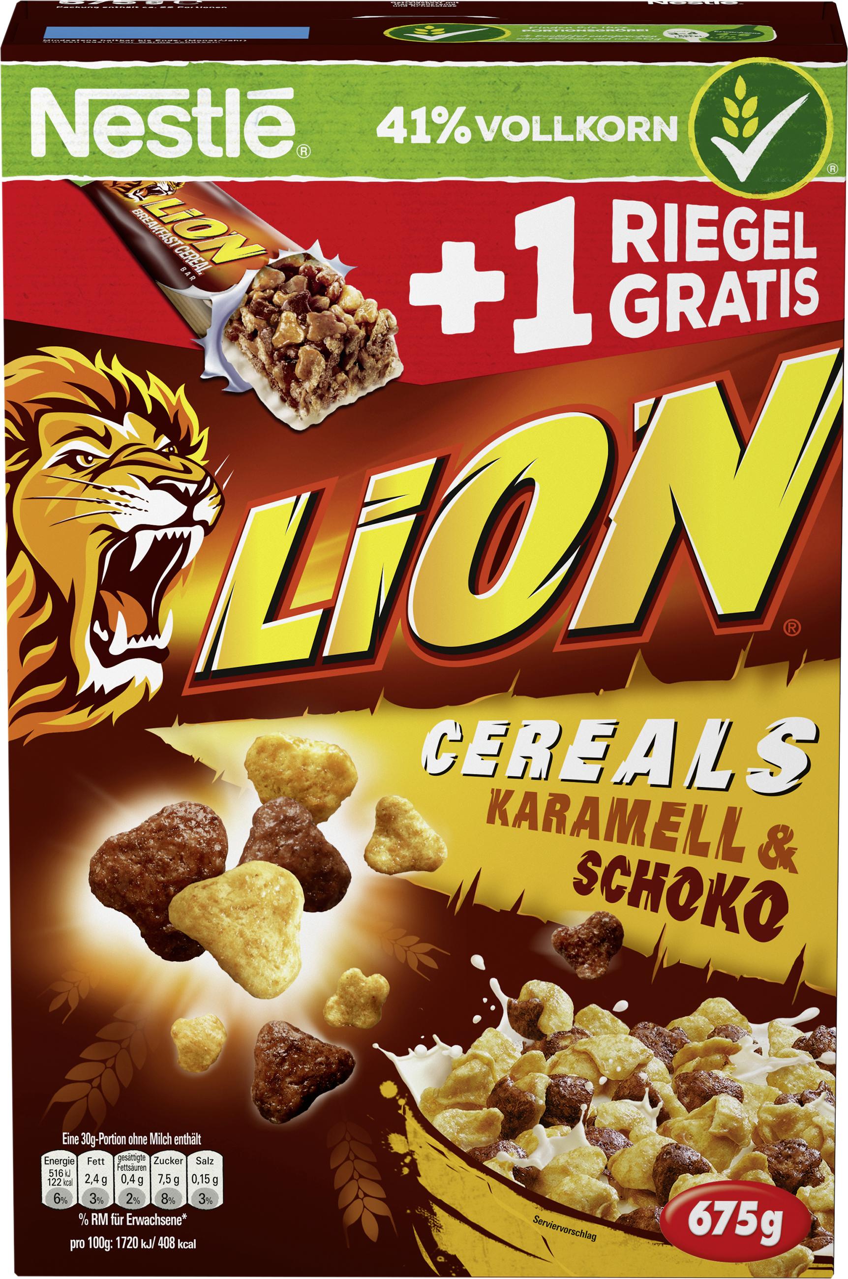 lion corn flakes