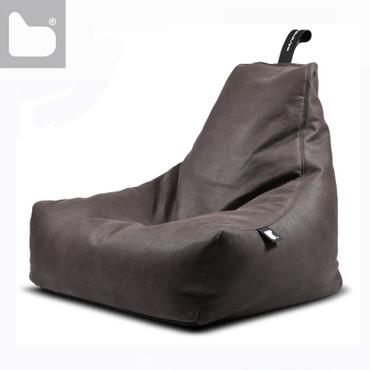 B-Bag MIGHTY Sitzsack Kunstleder in 4 rustikale Farben – Bild 2