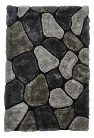 3D Teppich, edler Zottelteppich Kiesel-Design handgetuftet in 2 Größen und 12 Farbvarianten – Bild 8