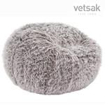 vetsak Sitzsack Large Flokati grey