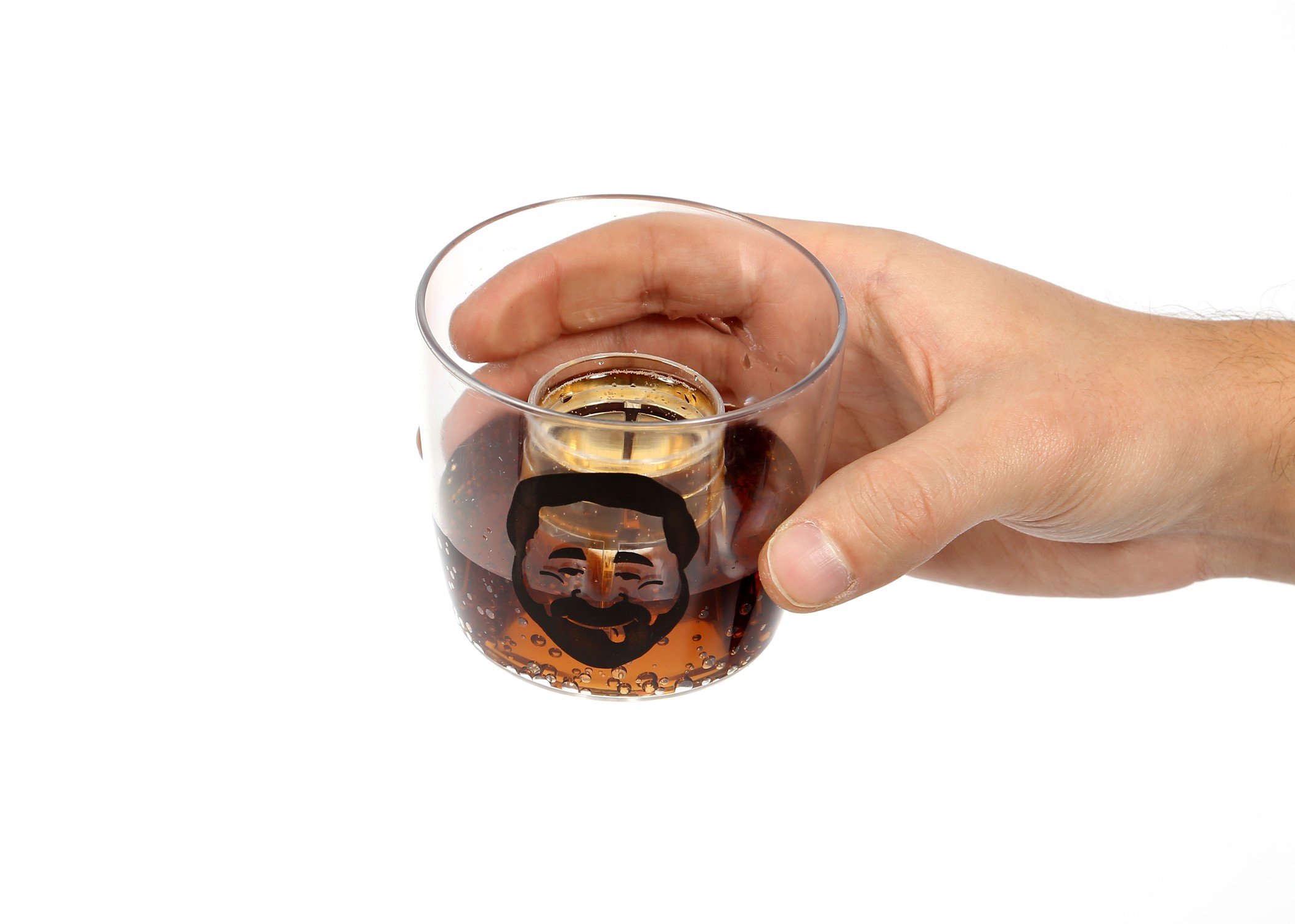 klattschen® Party-Cups - 5 Stück - innovative Partybecher mit Geschmacksexplosion