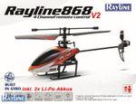 RC Helicopter  R868-V2 Razer 2.4 GHZ 4-KANAL Single BLADE Hubschrauber