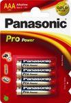 Panasonic Pro Power, 1,5V, Micro, LR03, AAA, Blister 4 Stück