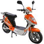 Elektroroller eco-City 45 V.2 Orange/Silber 45 Km/H