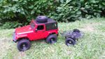 AMXrock Crawler V2 Wild Red Realistic Scaled Body Edition