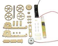E-Mobil, der Elektroflitzer (Bausatz) 002