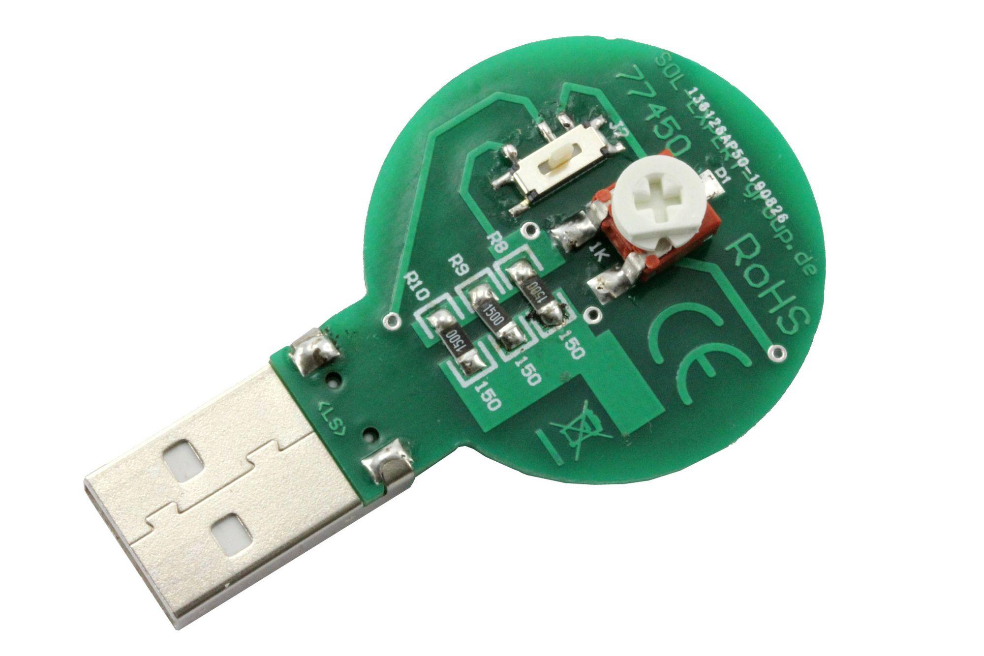 SMD-Lötbausatz Taschenlampe