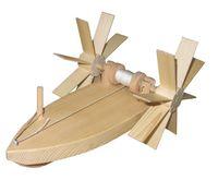 Forelle Schiffsbausatz (schwimmt gegen die Strömung) 008