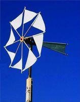 Wirbelwind, ein Windrad für den Garten; Bausatz 001
