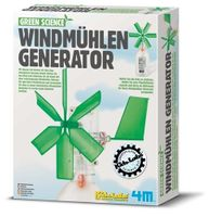 Green Science - Windmühlen Generator 001
