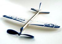 "Balsaholzflieger mit Gummimotor ""Eagle Jet"" 003"