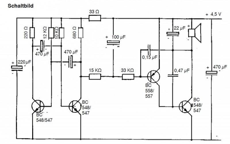 Elektronik Schaltung: Heulboje-Feueralarm Elektronik und E-Technik ...