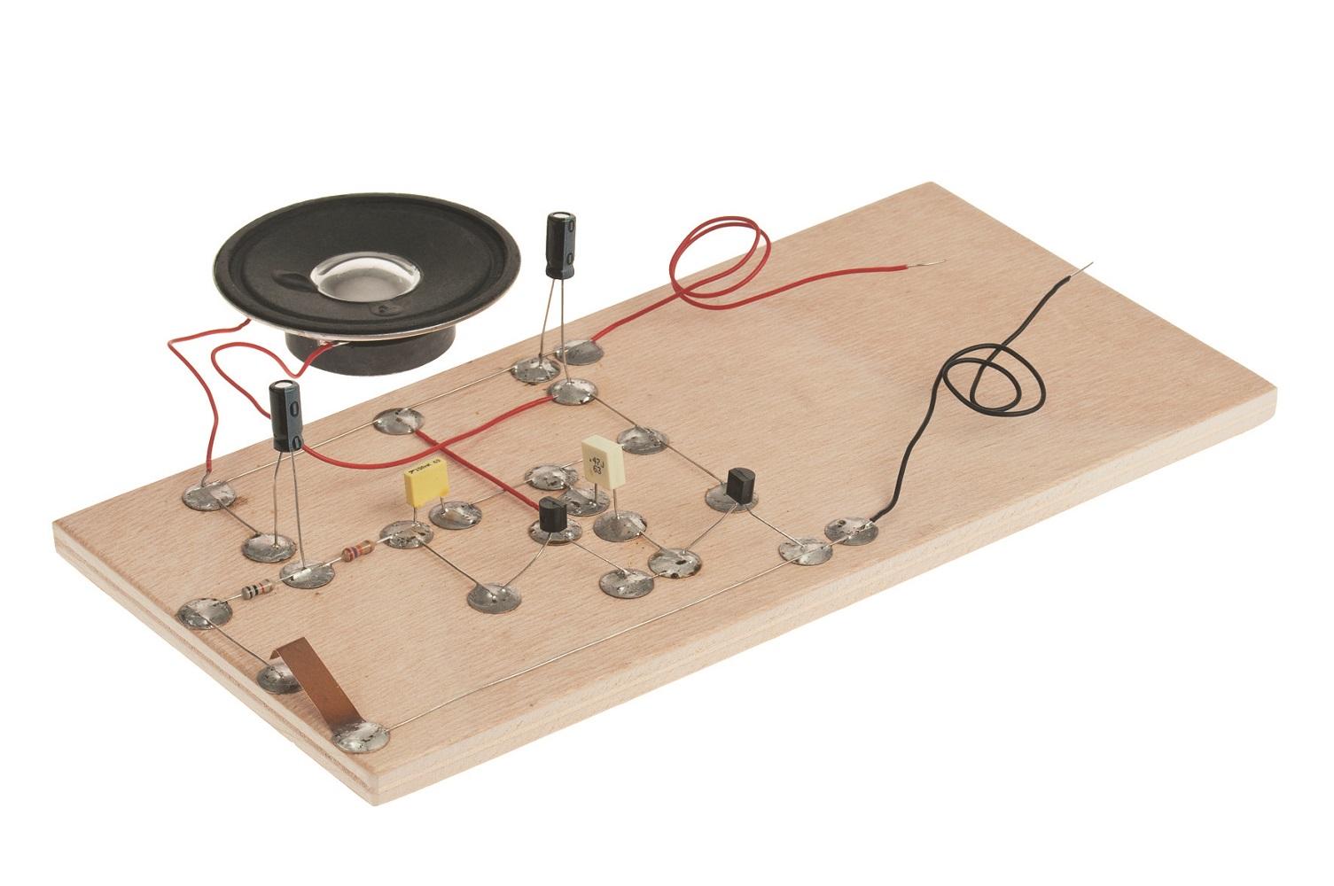 Elektronik Schaltung: Sirene Elektronik und E-Technik ...