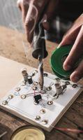 Elektronik Schaltung: Wechselblinker 004