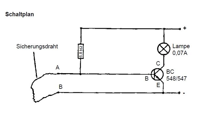 Elektronik Schaltung: Einbruchsicherung Elektronik und E-Technik ...
