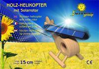 Holz-Hubschrauber mit großem Solarrotor 002
