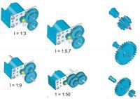 Universal Getriebeset C135 002