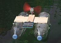 Solar-Katamaran Schülerbausatz 004