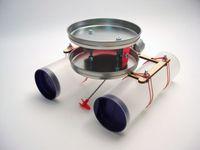 Kerzenboot mit thermoelektrischem Antrieb, Bausatz 001