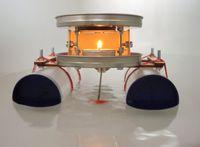 Kerzenboot mit thermoelektrischem Antrieb, Bausatz 002