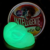 Intelligente Knete - Lila Phantom inklusive UV-Lampe 001