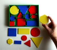 Geo-Set 60, mittelgroß - Geometrische Figuren 005