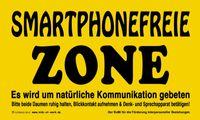 Schild Smartphone frei 001