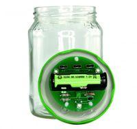 Lötbausatz für solarbetriebene Gurkenglaslampe 001