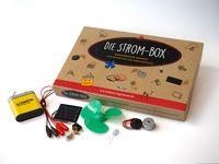 Die Strom-Box, Elektronische Bauteile zum Basteln und Experimentieren 001