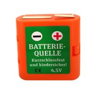Batteriehalter 4,5 Volt, Flachbatterie (kurzschlussfest) 001