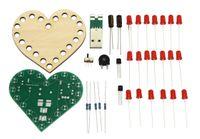 Blinkendes Herz, Lötbausatz für USB (Powerbank oder Port) 001