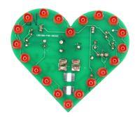 Blinkendes Herz, Lötbausatz für USB (Powerbank oder Port) 006