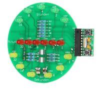 Binäre Uhr, Lötbausatz für USB (Powerbank oder Port) 003