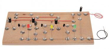 Elektronik Schaltung: LED Ampel