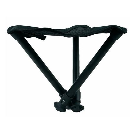 Walkstool Falthocker Basic 50, schwarz – Bild 3