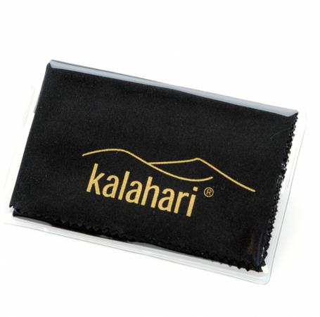 Kalahari Microfaser-Reinigungstuch schwarz 19x20cm