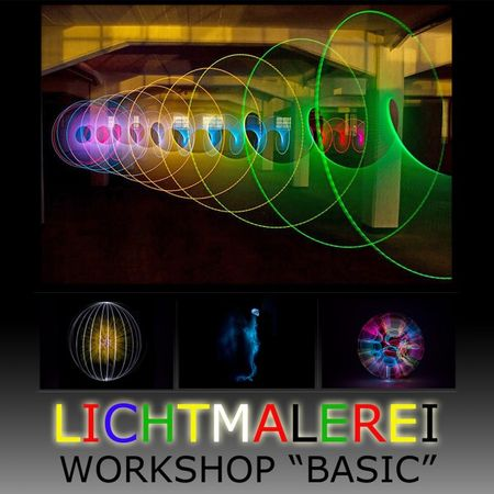 "LICHTMALEREI ""BASIC"" (WORKSHOP) – Bild 1"