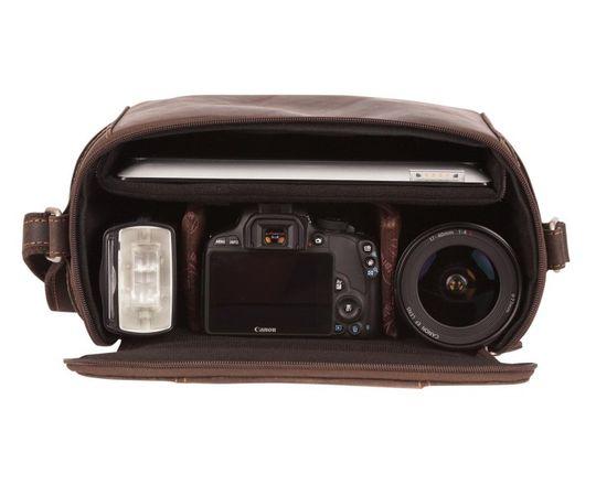 kalahari KAAMA L-15 Fototasche, Leder inkl. L-68 – Bild 3