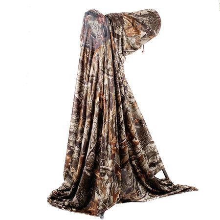 Han Bouwmeester Outdoor Tarnüberwurf Realtree Camouflage Polyester 215 x 250 cm – Bild 1